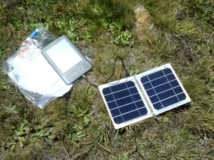 Suntastics solar charger & Kindle
