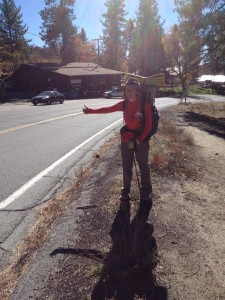 Hitchhiking on Hwy 243