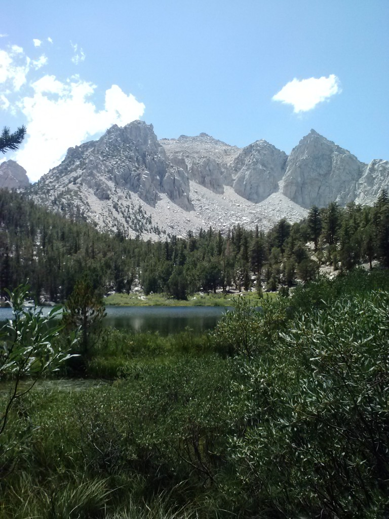 Gilbert Lake and Kearsarge Pass