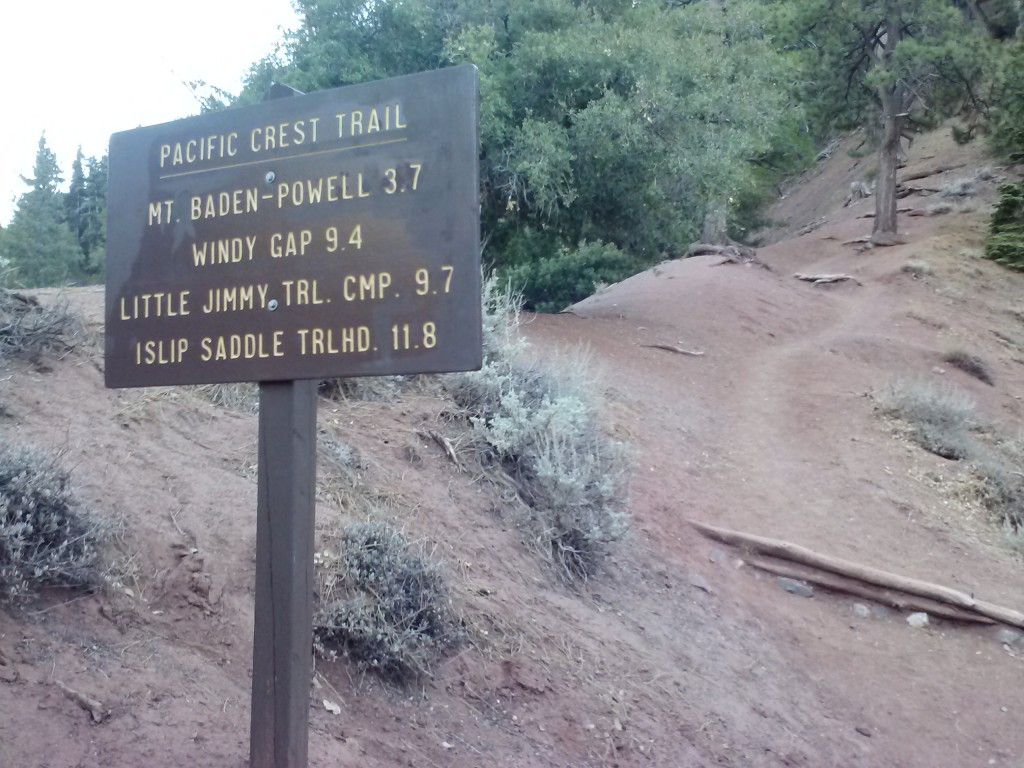 42 switchbacks to reach the top
