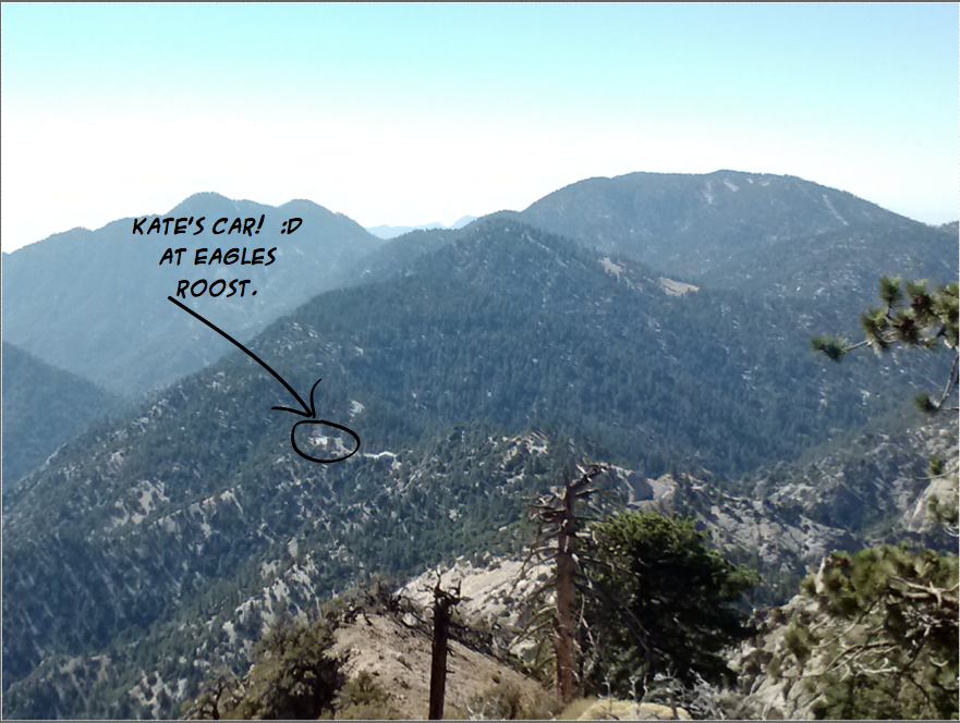 View from Mt. Williamson, Angeles NF