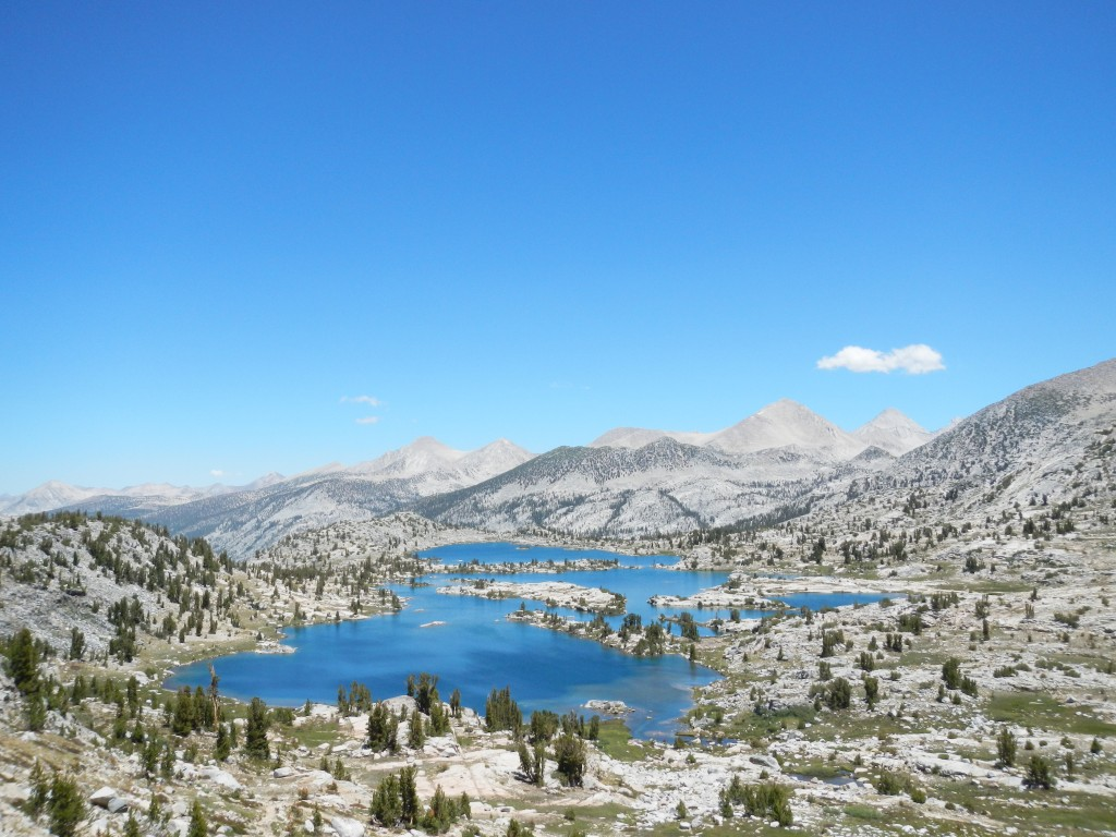 View of Marie Lake from Seldon Pass