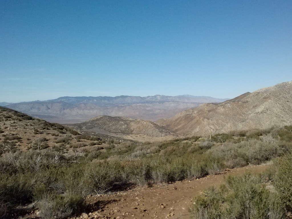 Looking towards San Felipe Valley