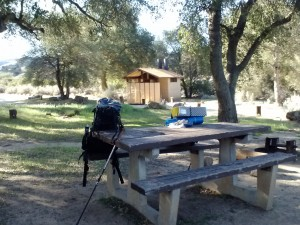 Boulder Oaks Campground, Cleaveland NF