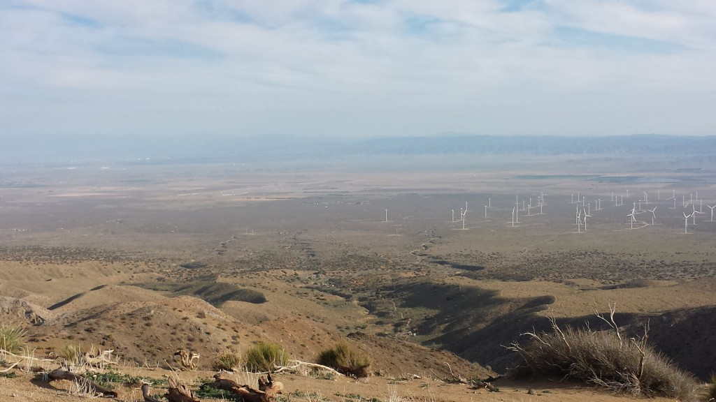 View towards the Mojave Desert
