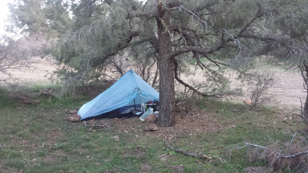 Camp near Golden Oak Spring