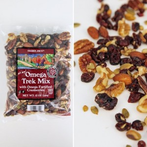 Trader Joe's Omega Trek Mix is my favorite, but I love any kind of trail mix!