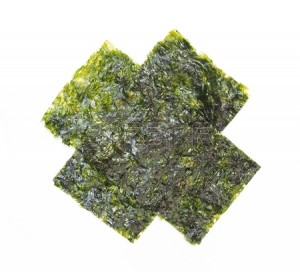 Dried Seaweed has a tremendous amount of iron, plus lots of calcium, vitamins A and C. I'll inhale this salty snack in less than two minutes.