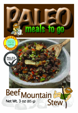 Paleo Meals To Go Beef Mountain Stew. $6.45 per serving after I've divided it up.
