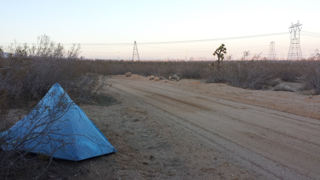 Camping near mile 532