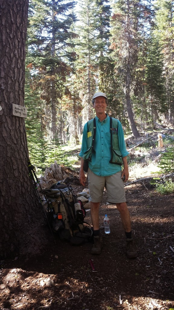 PCT Section N Plumas National Forest botanist