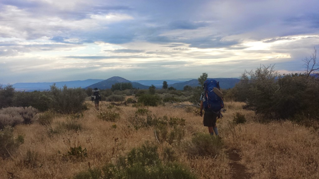 PCT Section N Lassen National Forest Hatcreek Rim hikers Butters Just So Fresh
