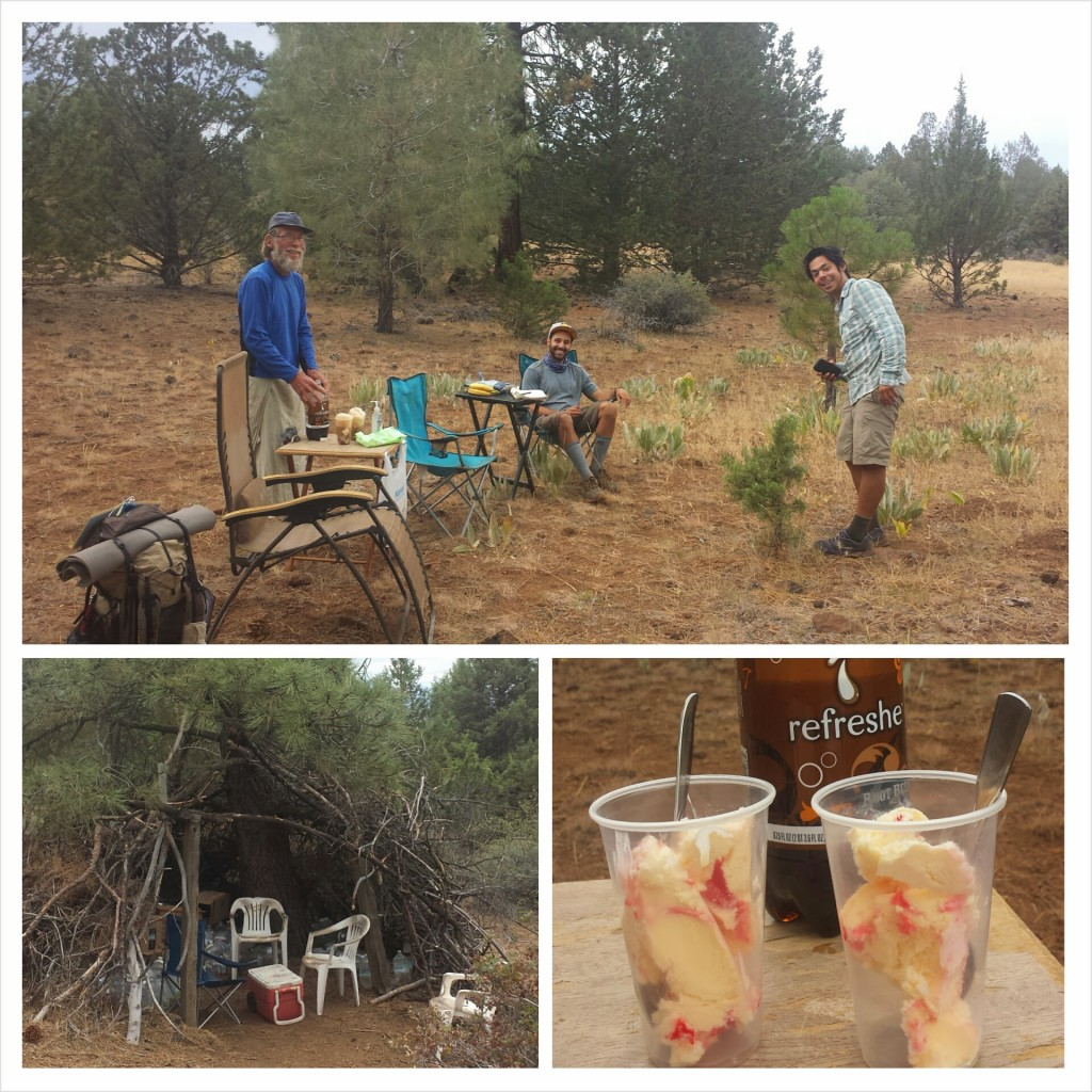 PCT Section N Lassen National Forest Hatcreek Rim Copper Tone Trail magic hikers Butters Just So Fresh