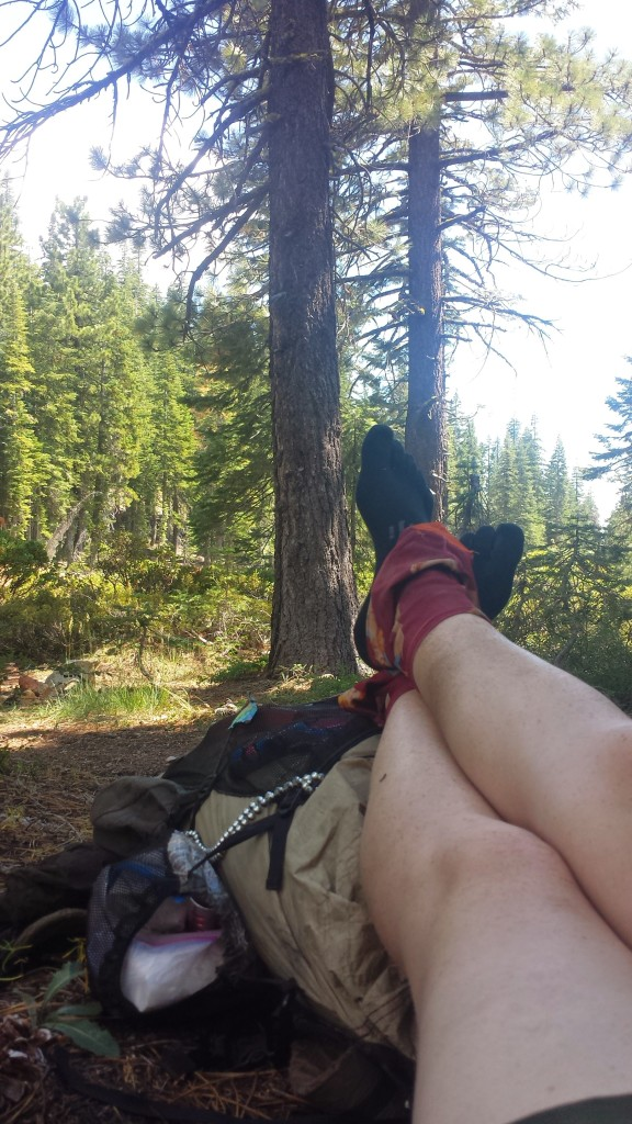 PCT Section P Shasta Trinity National Forest Scott Mountains dirty girl gaiters