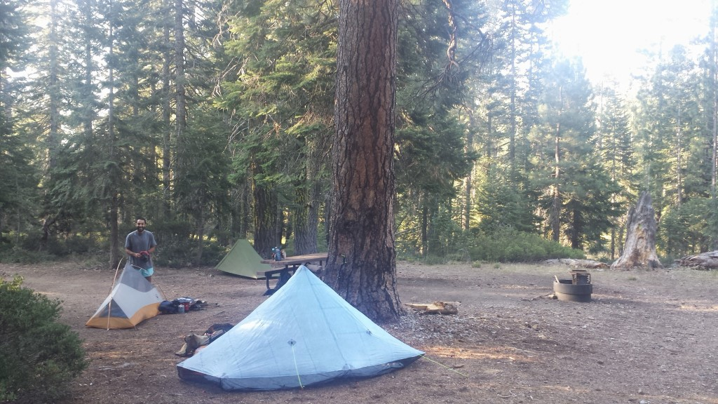 PCT Section P Shasta Trinity National Forest Scott Mountains Scott Summit Campground