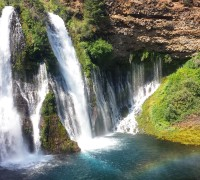 PCT Section N Lassen National Forest Burney Falls State Park