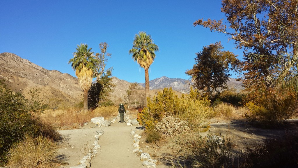 PCT Section C San Gogonio Wilderness Whitewater Preserve