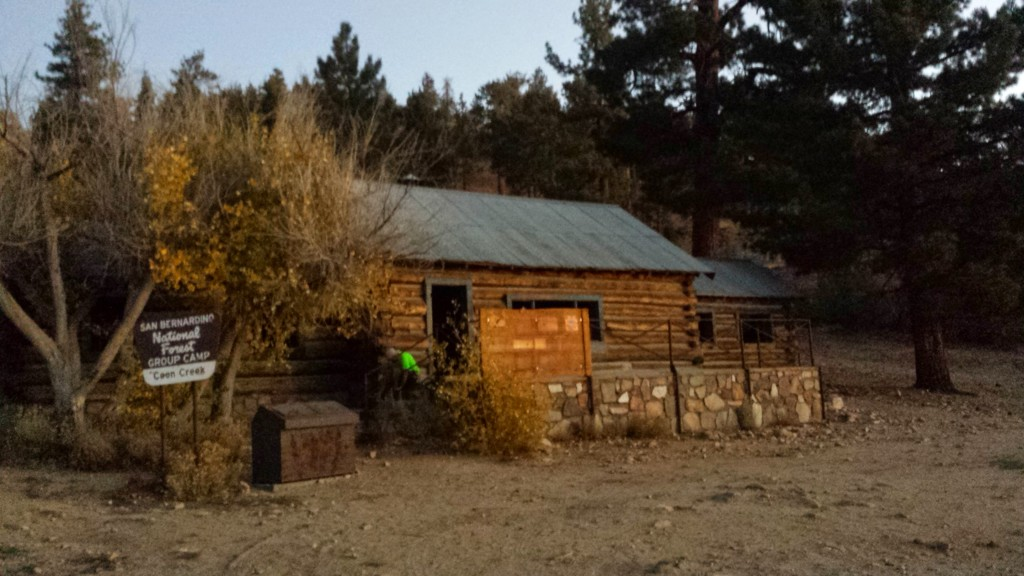PCT Section C San Bernardino National Forest Coon Creek Cabin