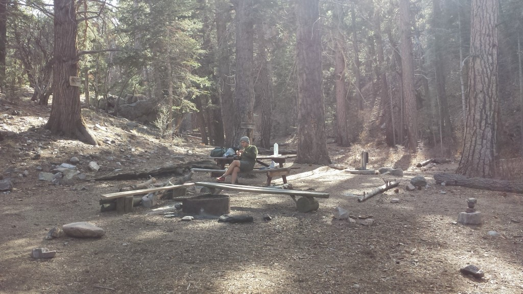PCT Section C San Bernardino National Forest Arrastre Trail Camp