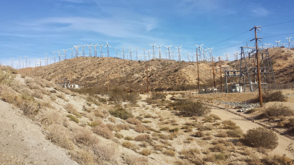 PCT Section C San Gorgonio Wilderness Cabazon Mesa Wind Farm