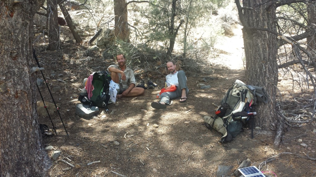 PCT Section G Sequoia National Forest Fox Mill Spring