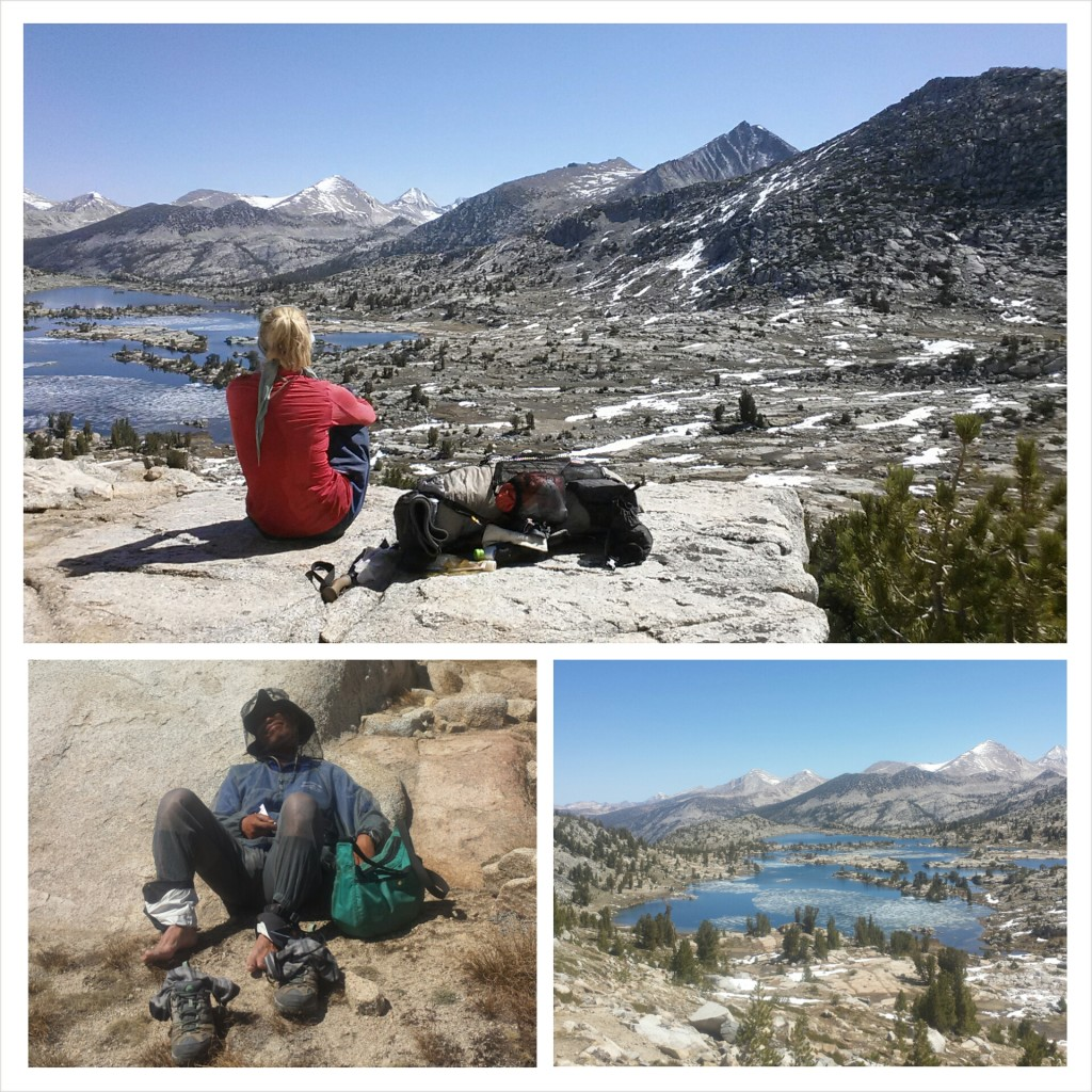 PCT Section H Kings Canyon National Park Seldon Pass Marie Lake Mr. Cup Japanese hiker