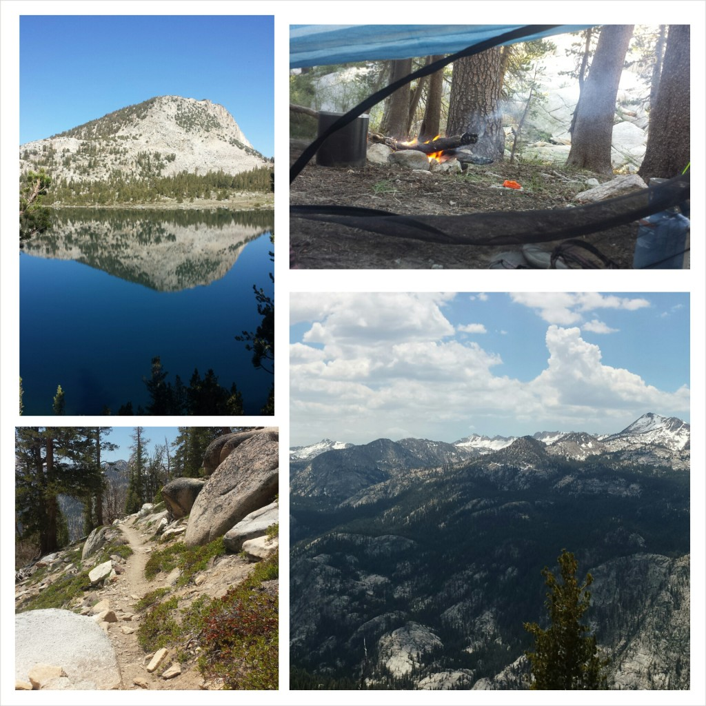 PCT Section H Sierra National Forest John Muir Wilderness
