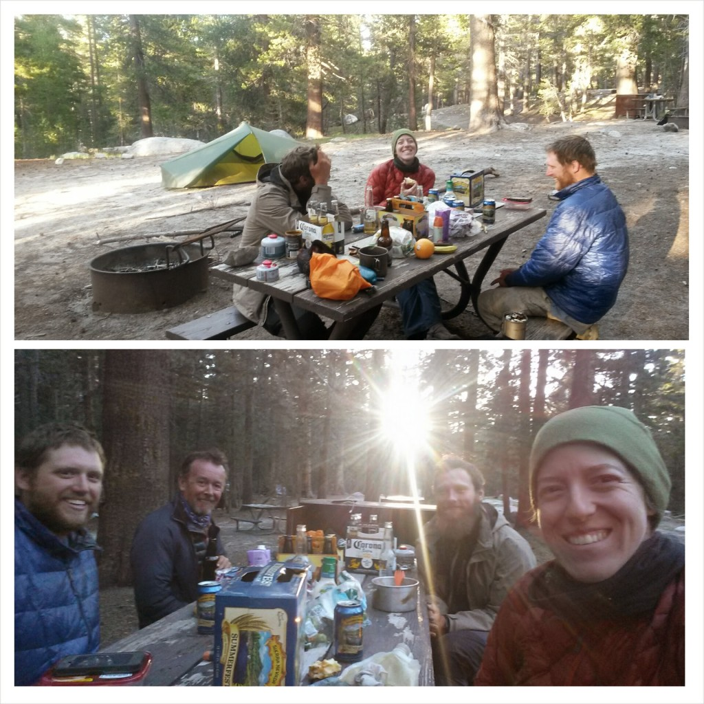 PCT Section H Yosemite Tuolumne Campground