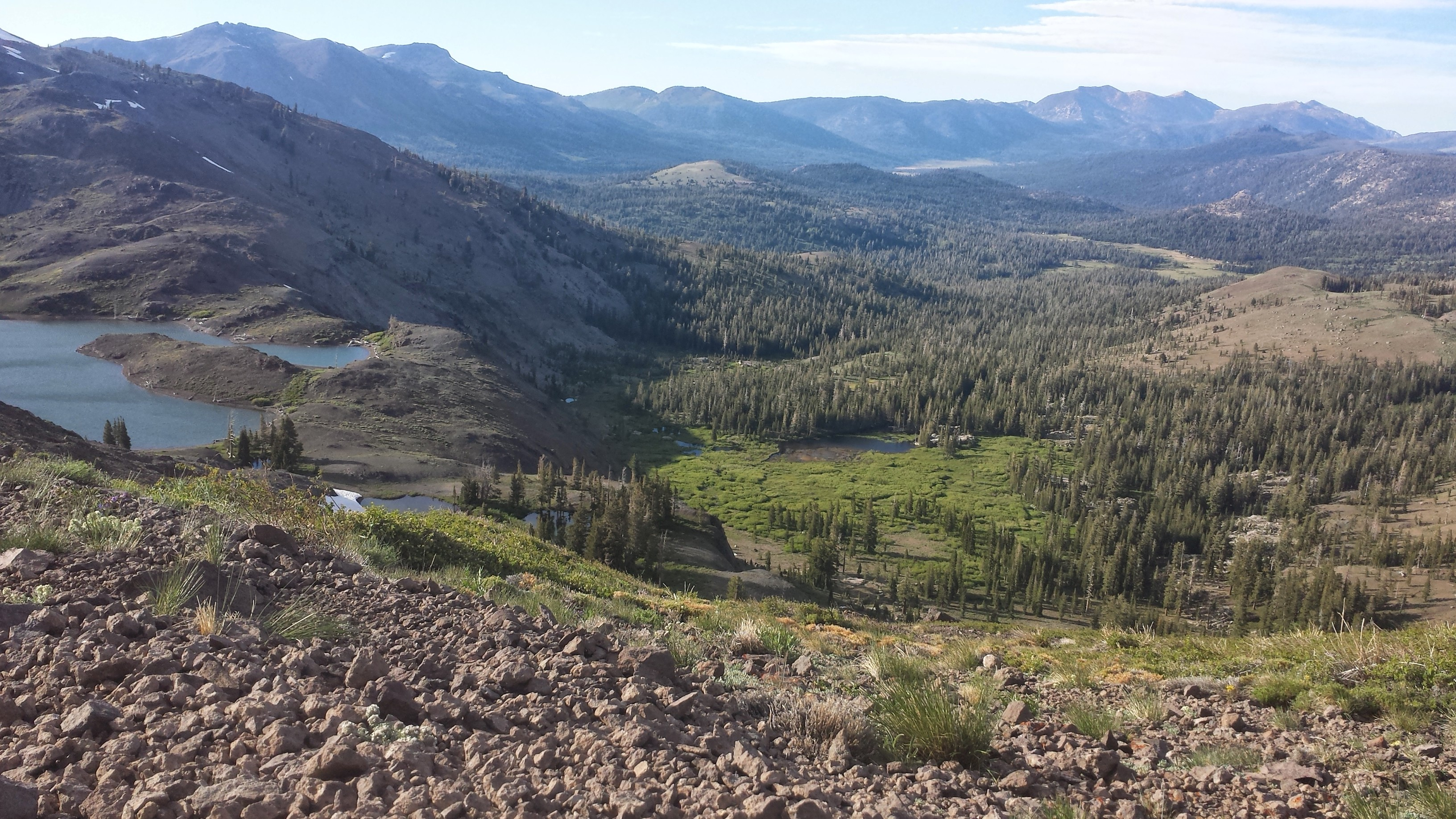 PCT Section J Toiyabe National Mokelumne Wilderness Lost Lakes