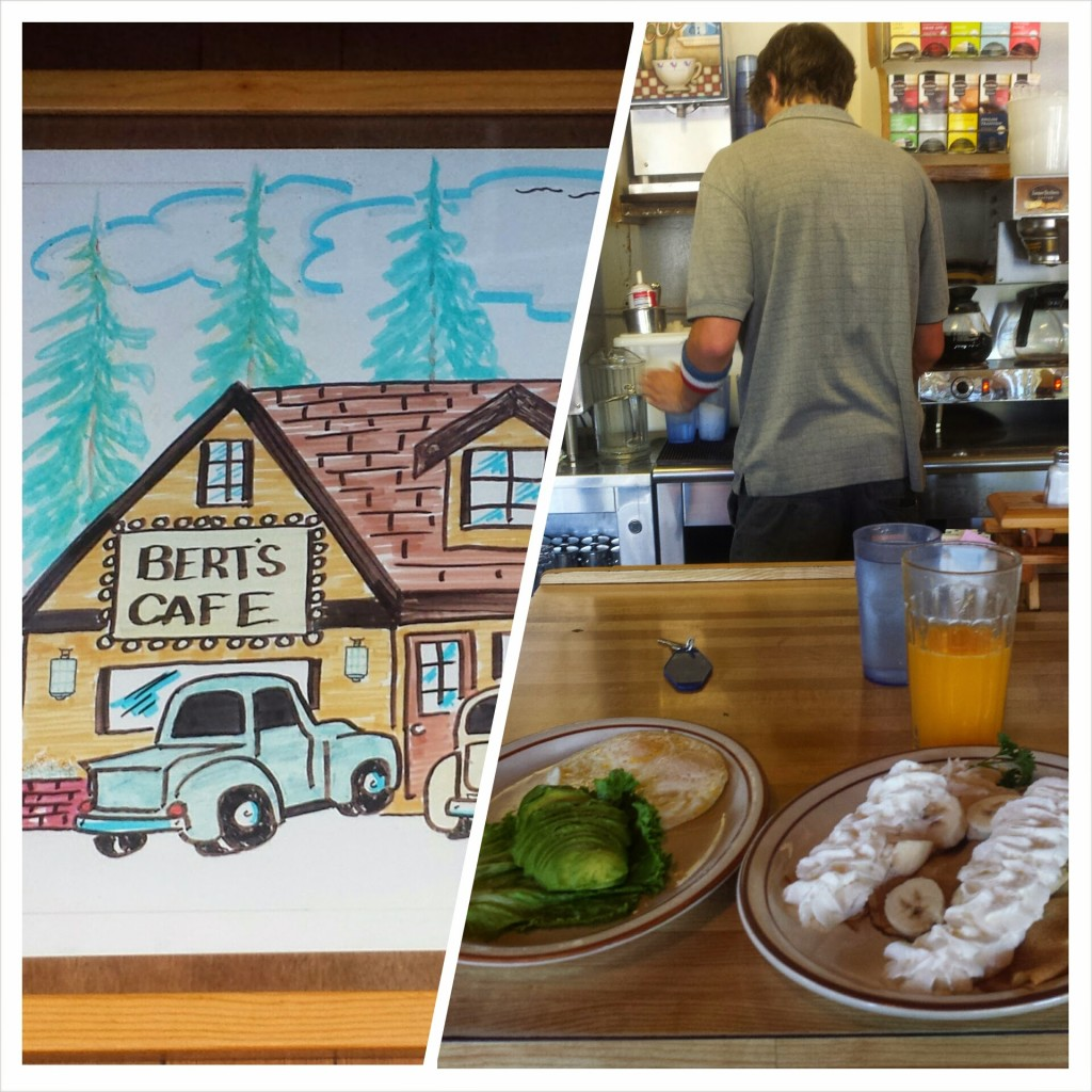PCT Section K South Lake Tahoe Bert's Cafe