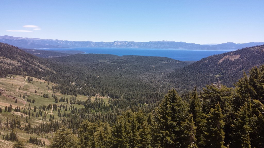 PCT Section K Granite Chief Wilderness Lake Tahoe