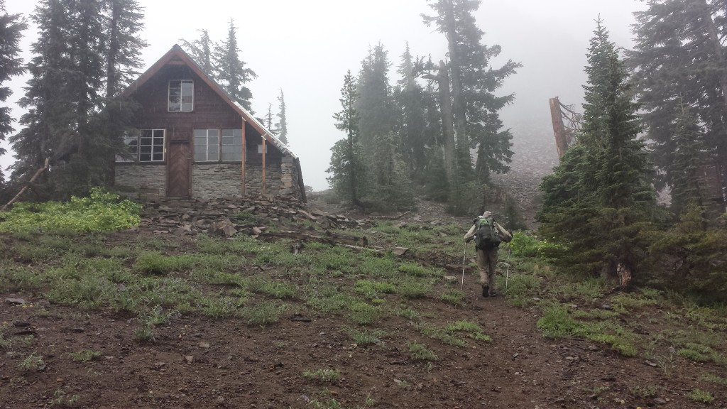 PCT Section K Granite Chief Wilderness Sierra Club Benson Hut