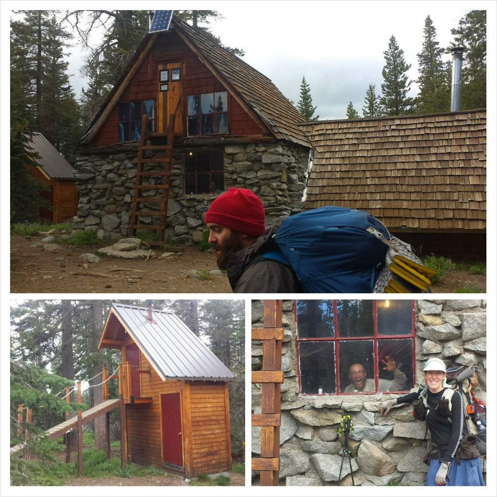 PCT Section K Granite Chief Wilderness Sierra Club Peter Grub Hut