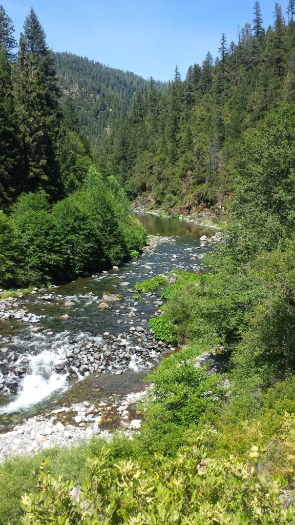 PCT Section M Plumas National Forest Middle Fork Feather River