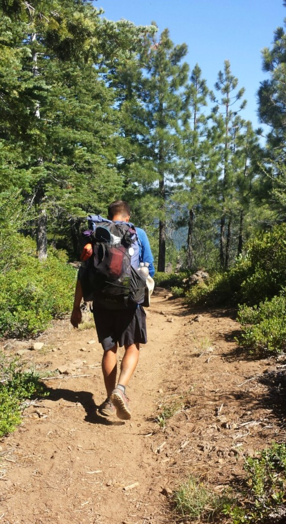 PCT Section N Lassen National Forest hiker Glitter