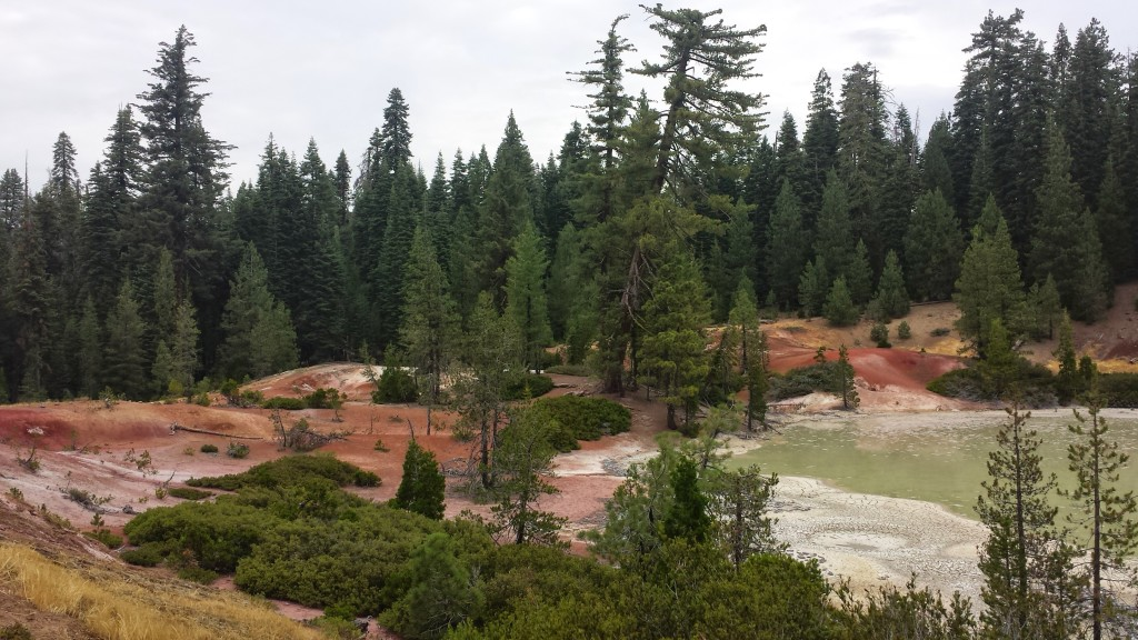 PCT Section N Lassen National Forest Boiling Mud Lake