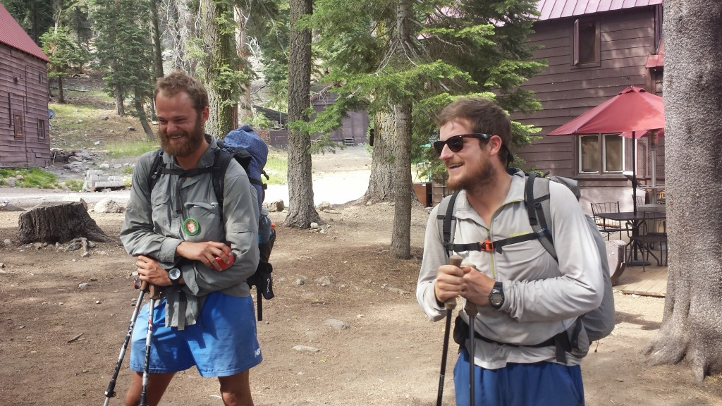 PCT Section N Lassen National Forest Drakesbad Guest Ranch hikers Booey Duchess