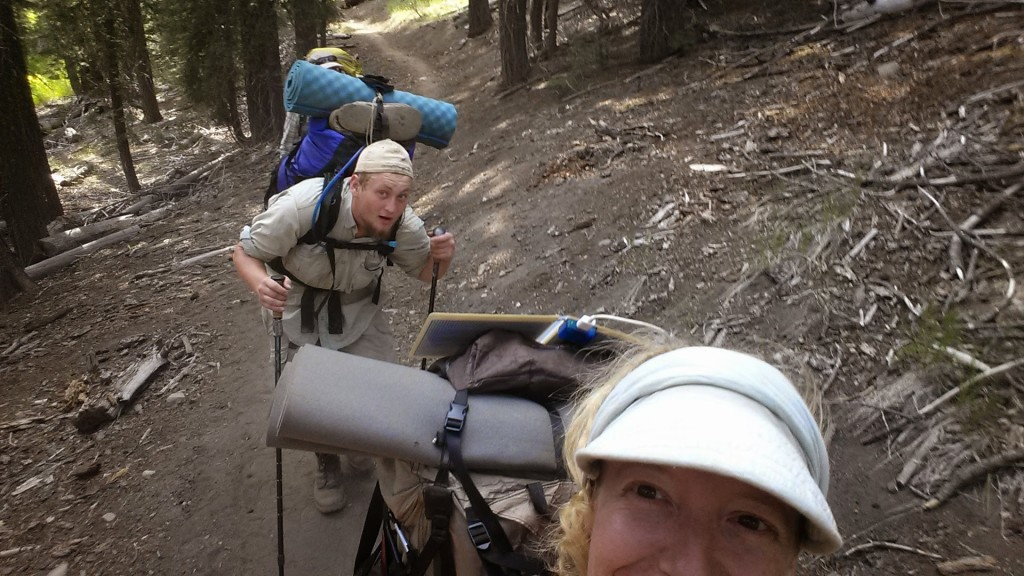PCT Section N Lassen National Forest hikers
