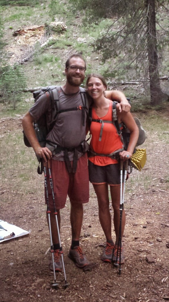 PCT Section N Lassen National Forest hikers Smiles Uke-less