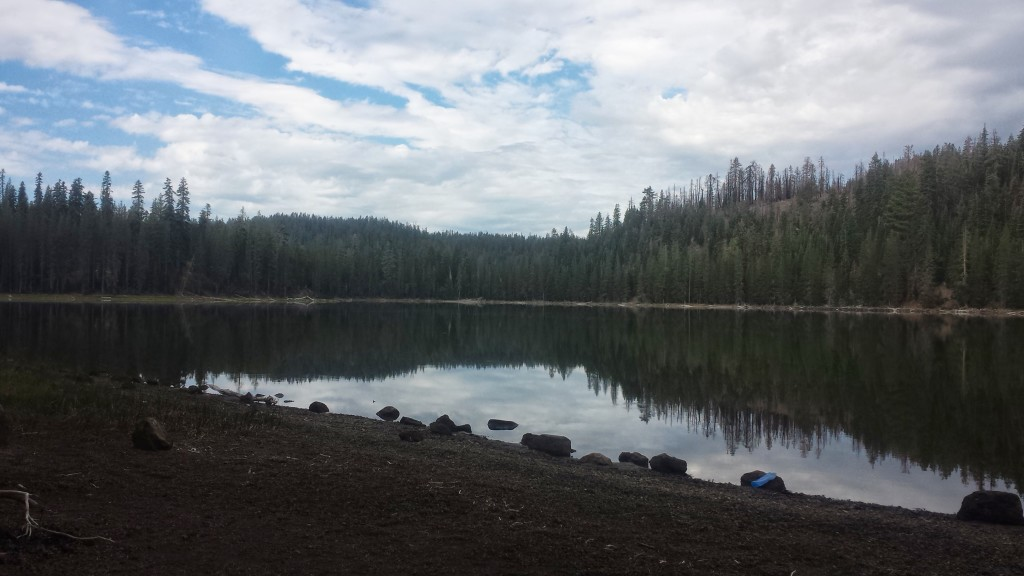 PCT Section N Lassen National Forest lake