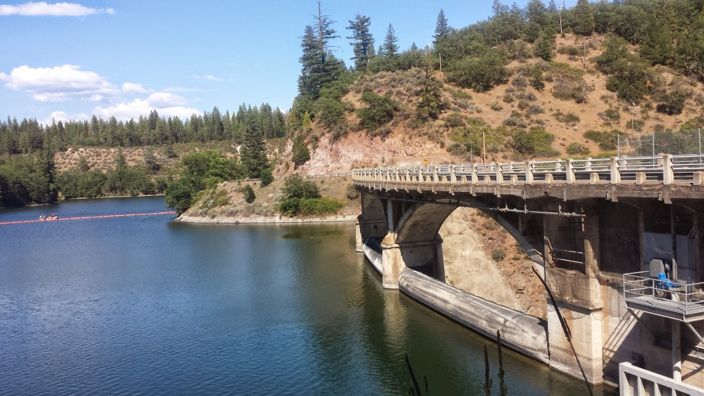 PCT Section O Pit River Number Three Dam Lake Britton Burney Falls State Park