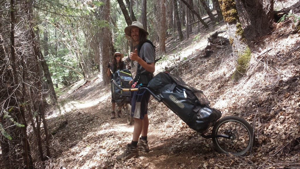 PCT Section O Shasta Trinity National Forest mono walkers rickshaw tuk tuk