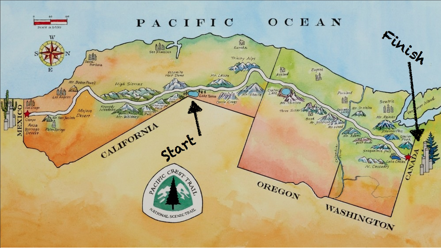 PCT-2015-hiking-map
