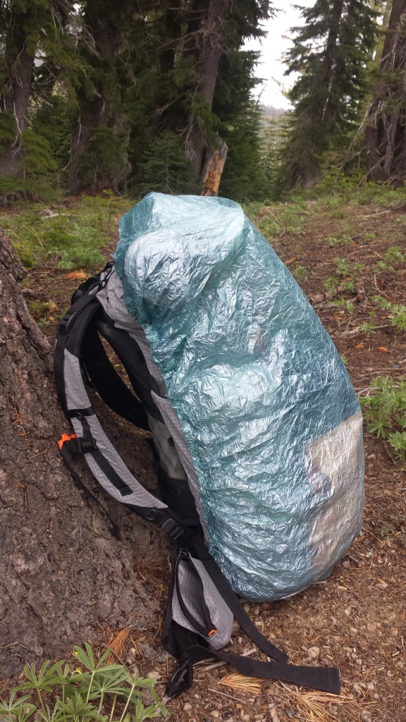 Ultralight ZPacks pack cover
