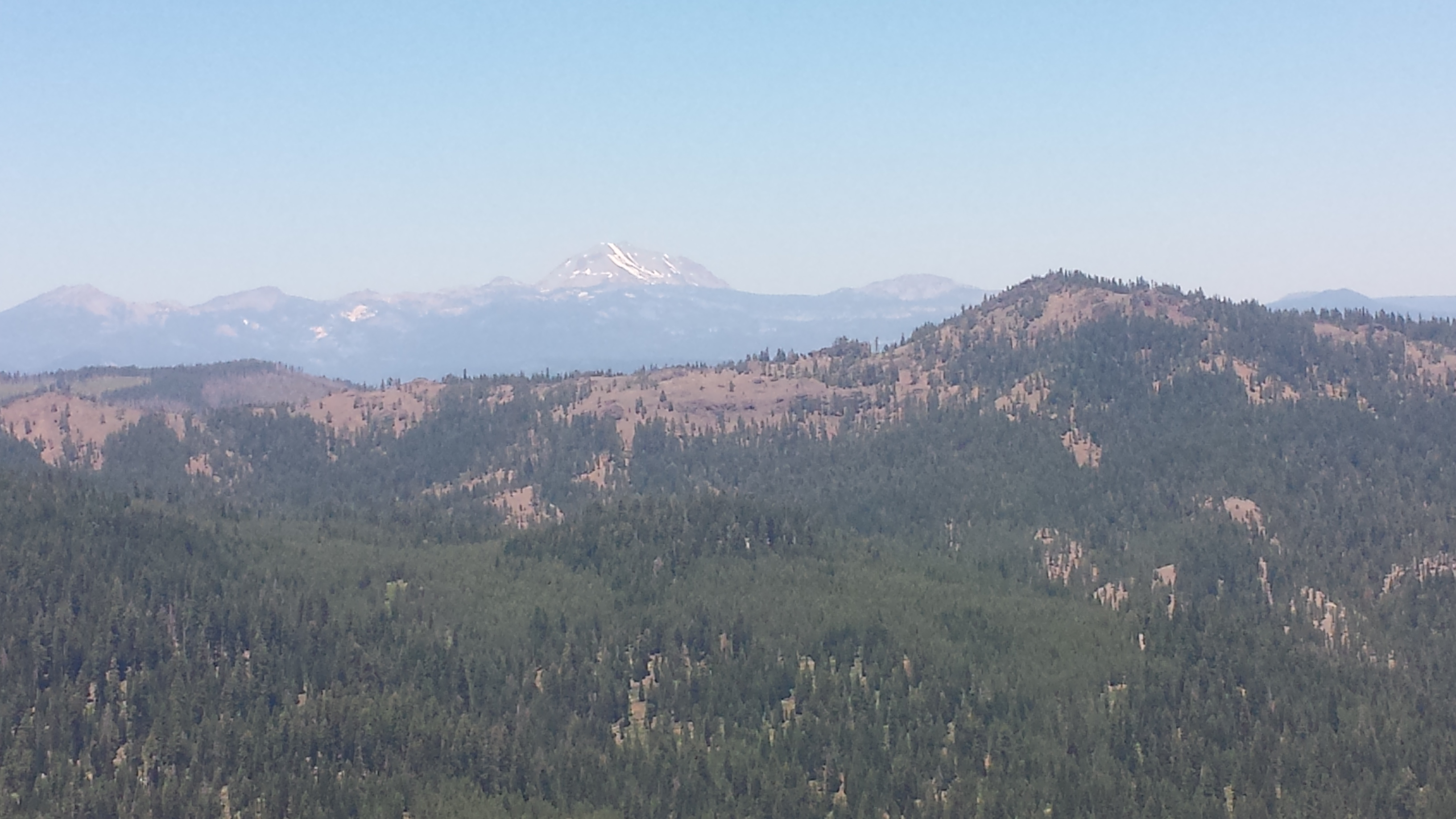 Mount Lassen in the distance