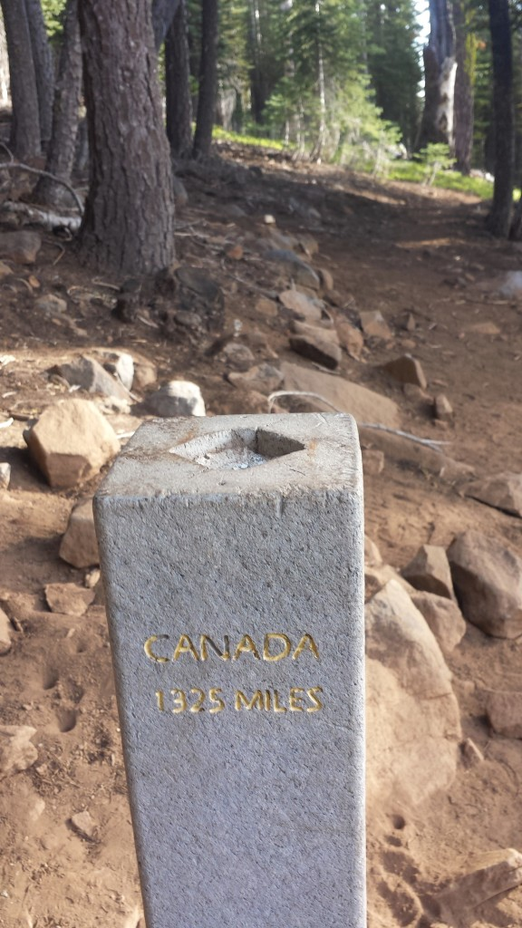 PCT Midpoint Monument