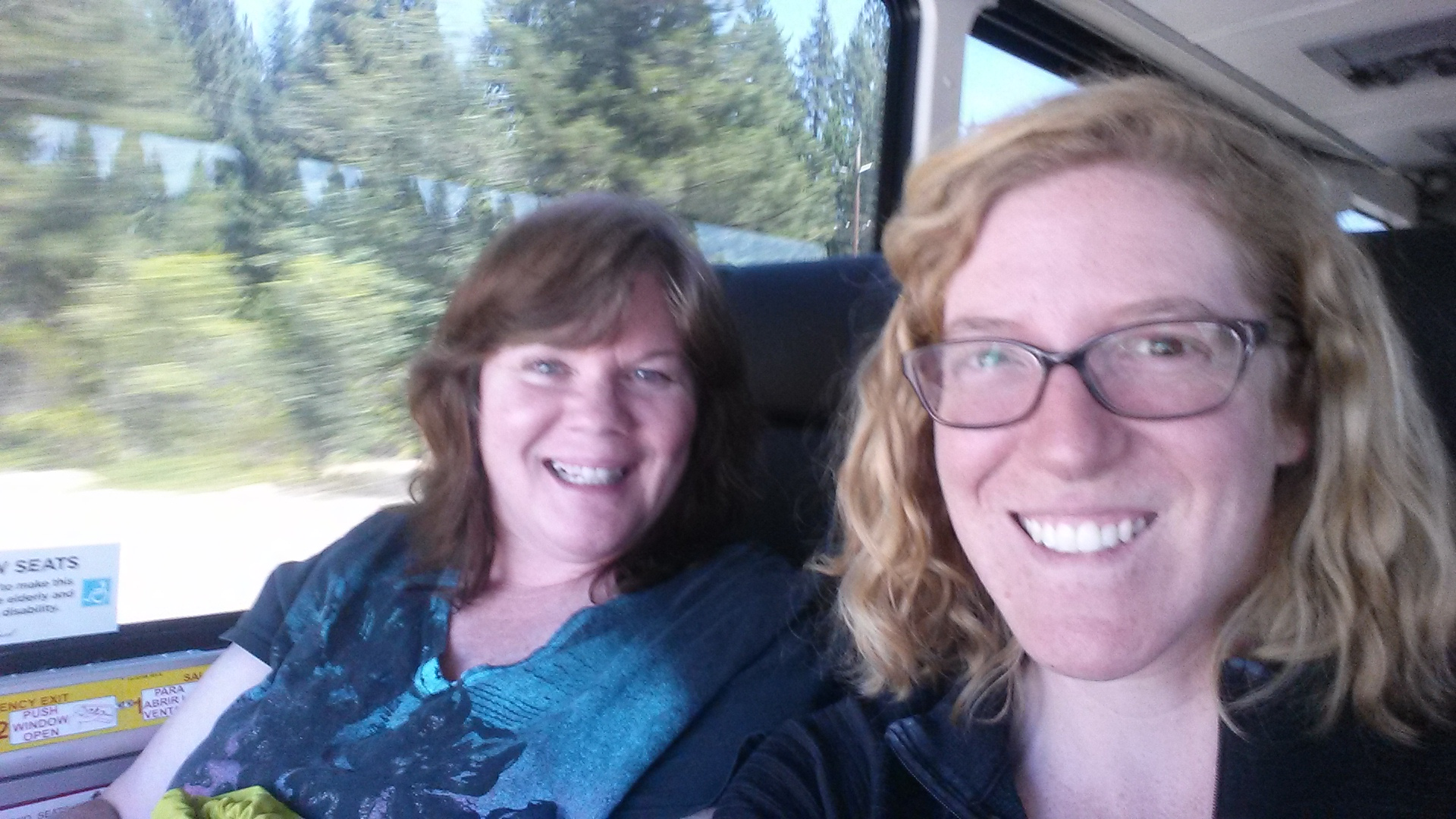 Riding the Greyhound with Carrie