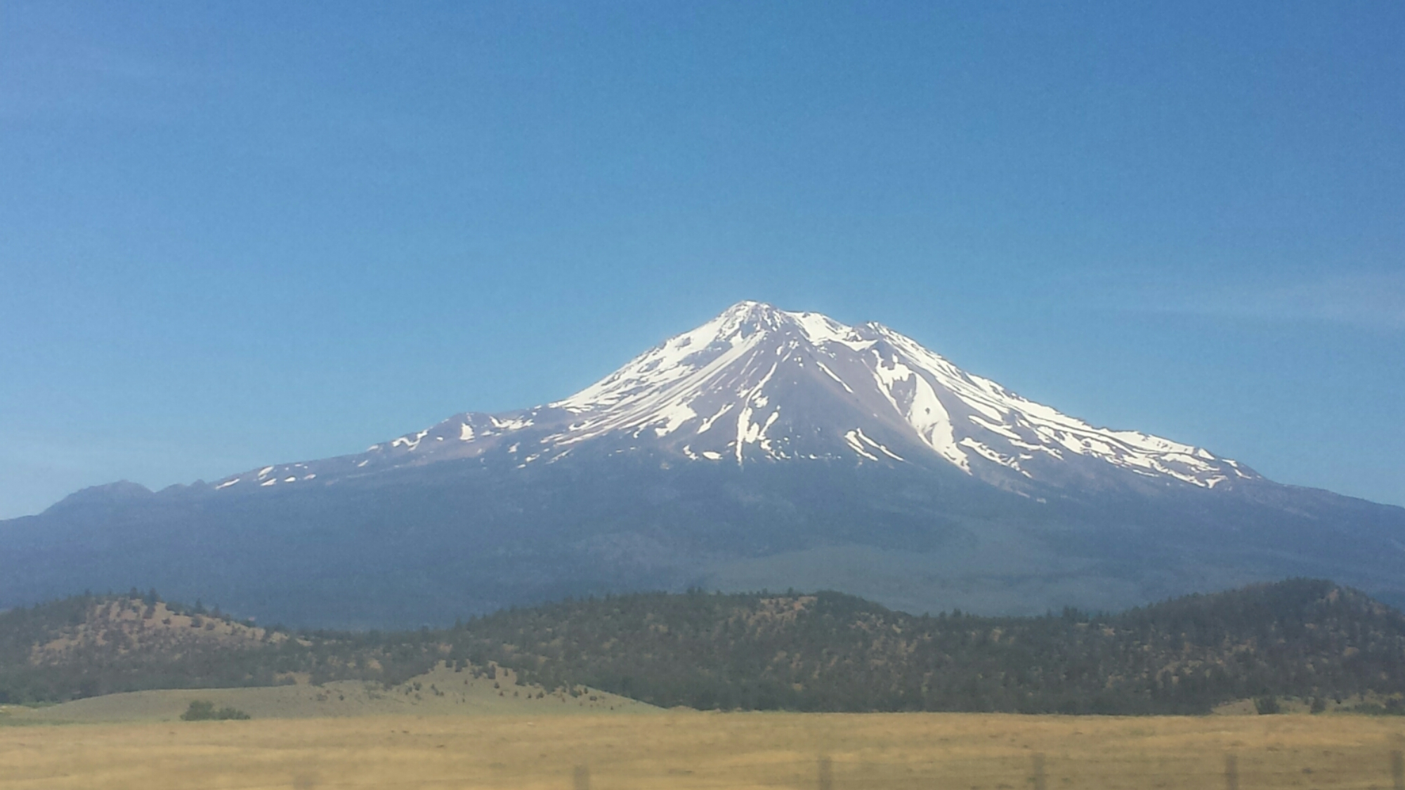 Goodbye, Mount Shasta