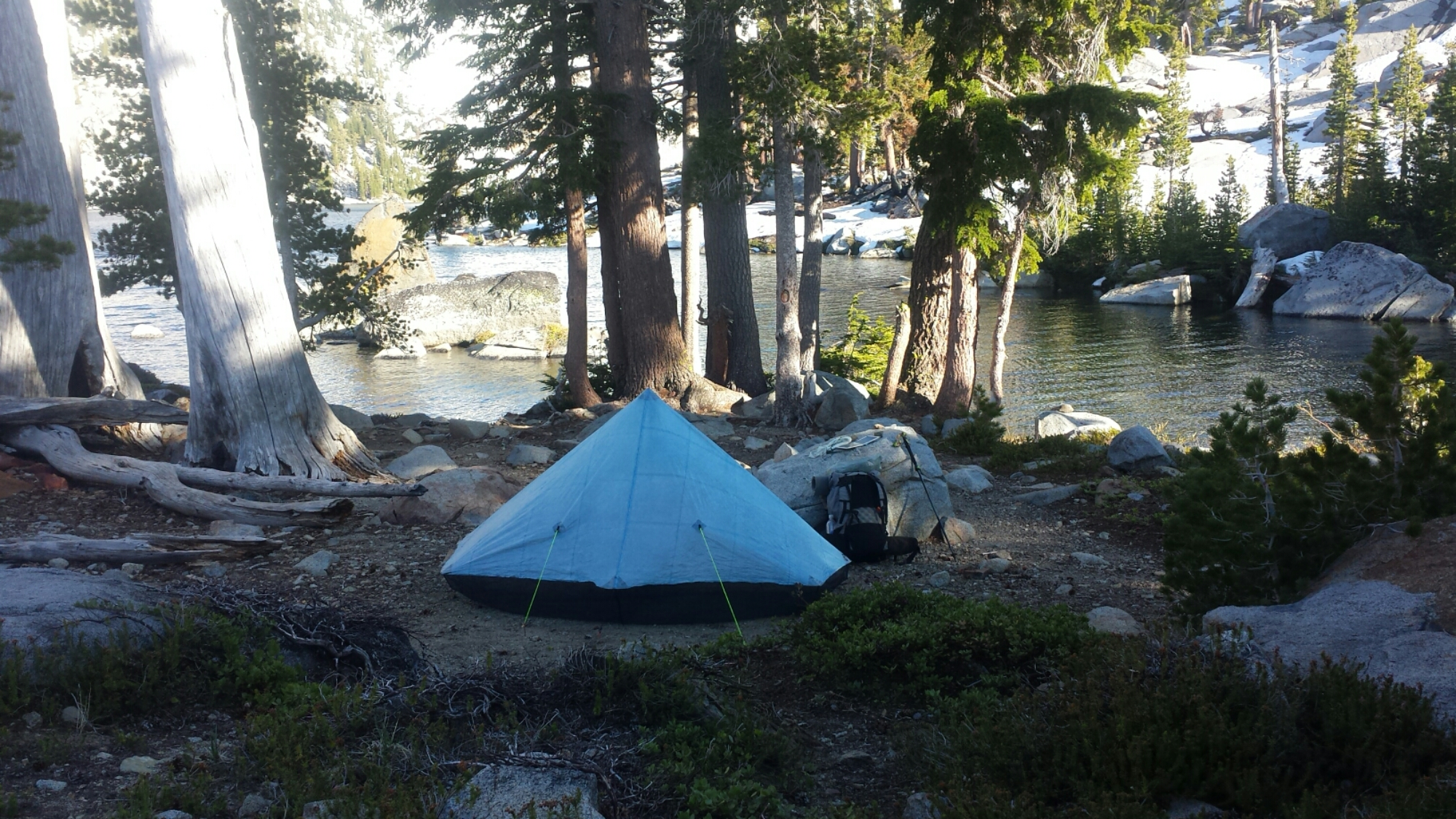 Camping at Dick's Lake