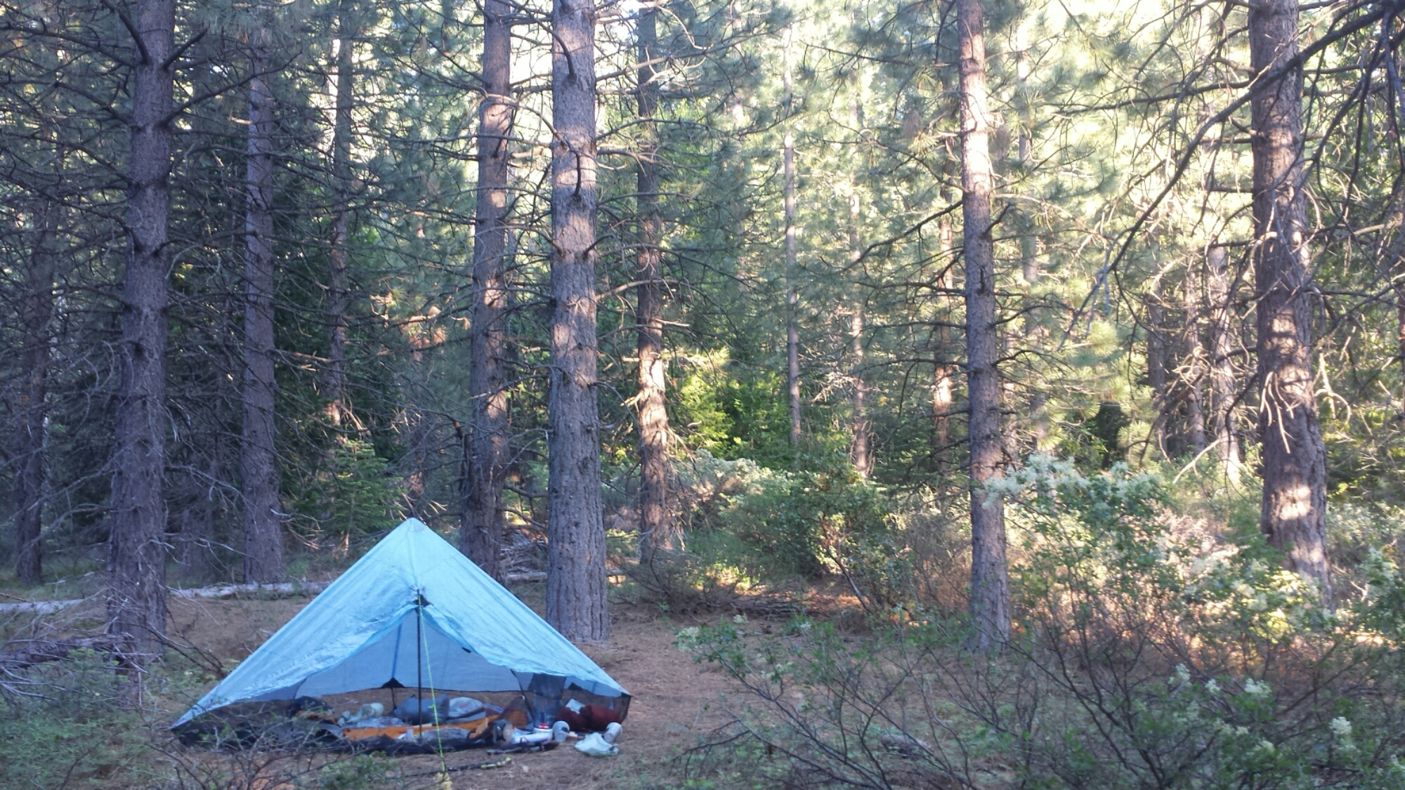 Camping near Fowler Lake